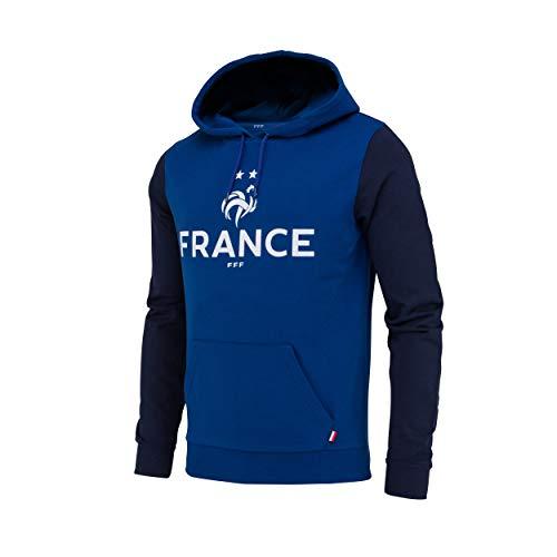 Equipe de FRANCE de football Doudoune sans Manche FFF Collection Officielle Taille Enfant Gar/çon