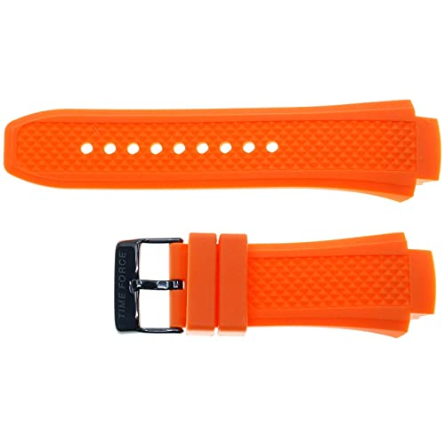 Correa de Silicona Color Naranja Compatible con Time Force TF-4178M12