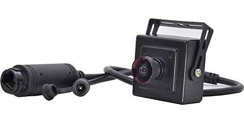 1080P POE Cámara Mini IP Cámara 2MP 1.9mm ojo de pez gran angular de seguridad H.265 IP cámara de vigilancia POE interior ONVIF P2P CCTV Cam (2MP, 1.9MM)