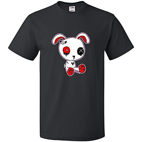 inktastic Goth Bunny T-Shirt Medium Black - Gus Fink Studios 2e23c