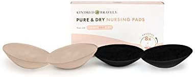 Kindred Bravely Ultra Absorbent Reusable Nursing Pads Washable Breast Pads 4 Pack product image