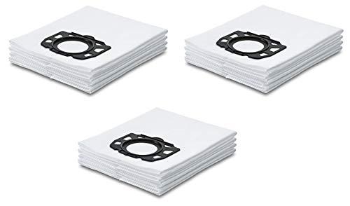 Filter-Set für Kärcher Nass-/Trockensauger mit original Kärcher Vliesfilterbeutel (2.863-006.0) (3x Vliesfilterbeutel)