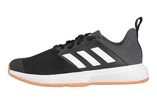 adidas Herren Essence M Sneaker, Negbás/Ftwbla/Grisei, 47 1/3 EU