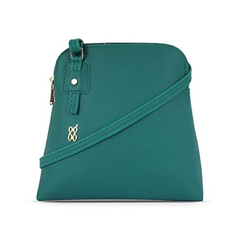 Baggit Women's Bowling Bag (Green)