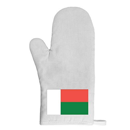 Mygoodprice Ofenhandschuh Topflappen Flagge Madagaskar