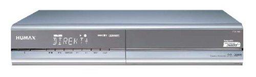 Humax iPDR 9800 Digitaler Satelliten-Receiver mit 160 GB (80+80) Festplatte Silber mit Gutschein 12 Monate Premiere KOMPLETT