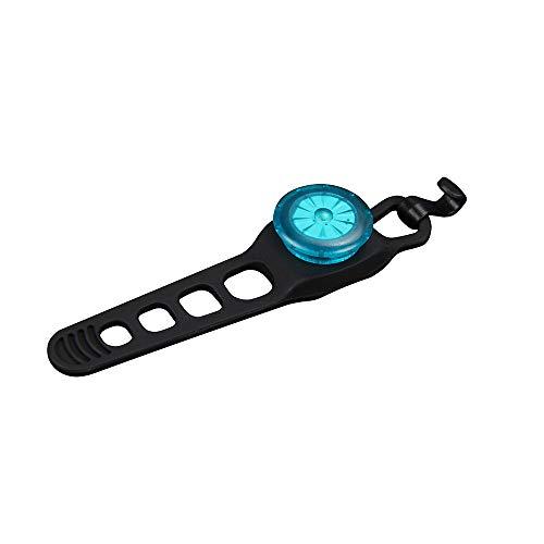 WJH9 LED-Lauflicht, Turn Smart-Mountainbike Signal Rückleuchten, Reiten Radfahren Drahtlose Fernbedienung Rücklicht Warnreitausrüstung (10 Packungen),Blau