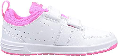 Nike Unisex-Kinder Pico 5 (PSV) Sneaker, Weiß (White/Pink Blast 102), 31 EU