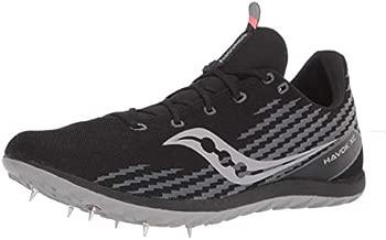 Saucony Men's Havok XC3 Cross Country Running Shoes, Black, 11
