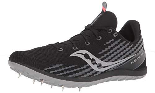 Saucony Men's Havok XC3 Cross Country Running Shoes, Black, 7