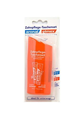 Aronal & Elmex Zahnpflege Taschenset - Reiseset, ideal für unterwegs
