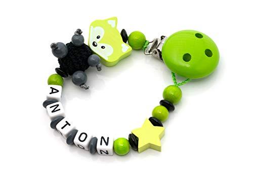 Individuelle Schnullerkette/Für Mädchen und Jungen/Personalisierte Geschenke für Babys in liebevoller Handarbeit/Made in Germany