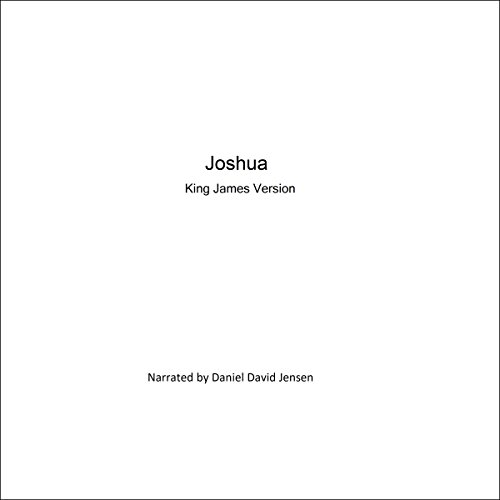 Joshua audiobook cover art
