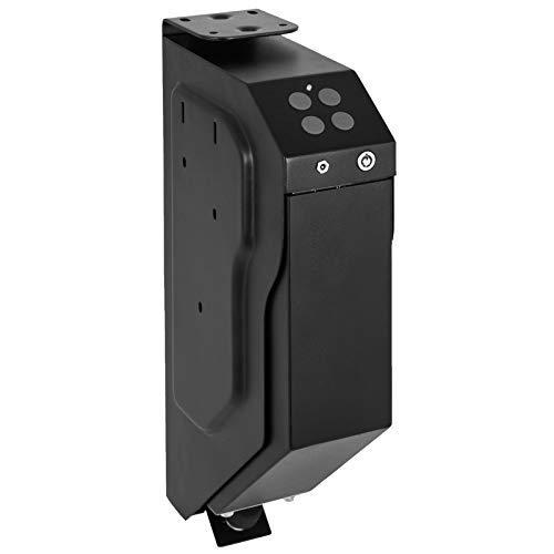 VEVOR Pistola Caja Fuerte de Seguridad Acero, con 2 Llaves y Cerradura de Combinación, Caja de Almacenamiento de Pistola con Teclado Digital, Caja de Arma Portátil con 2 Llaves 3,3 kg Resistente