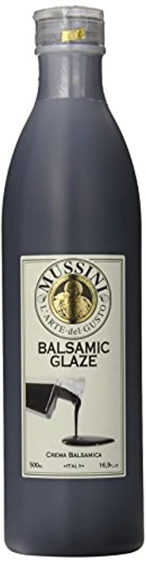Mussini Crema, Glaze of Balsamic Vinegar of Modena, 16.9 Ounce Bottle