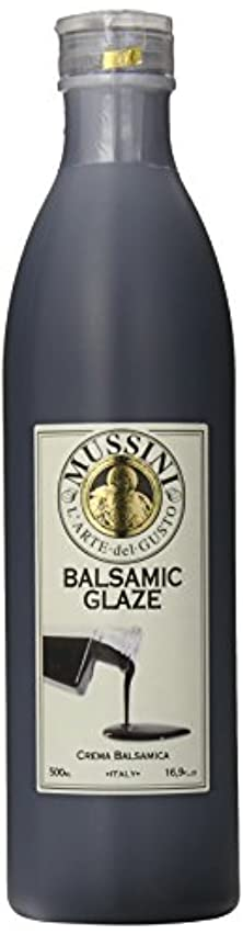 Mussini Crema, Glaze of Balsamic Vinegar of Modena, 16.9 Ounce Bottle