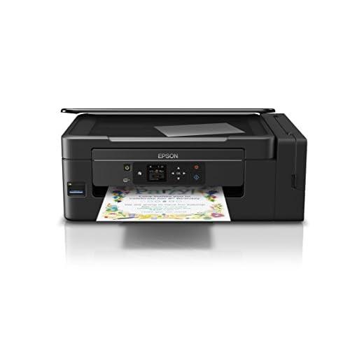 Epson EcoTank ET-2650 Stampante InkJet 3-in-1, Stampa, Copia e Scansione, 4 Colori, Wi-Fi Direct, Nero