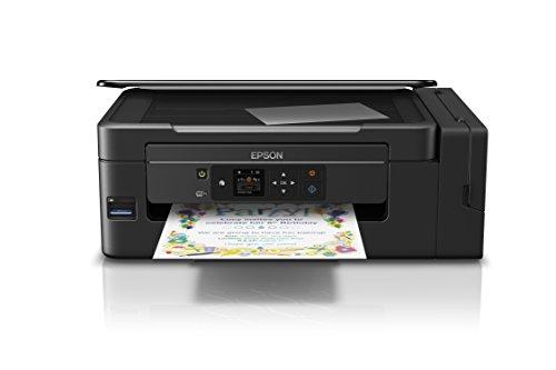 Epson EcoTank ET-2650 | Impresora Multifunción 3 en 1. Impresión, copia, escaneado