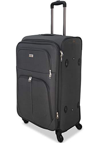 ormi trolley ORMI trolley bagaglio a mano da cabina piccolo medio grande extra large XXL 4 Ruote (Grigio