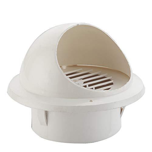 LTLWL Redonda Rejilla De Ventilación De Acero Inoxidable con Pantalla De Insecto PVC, Instalada En La Posición De Escape del Conducto, para Viviendas Familiares, 75-160 Mm,160mm