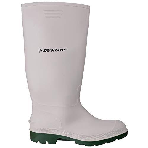 Dunlop Damen Pricemastor 380BV Gummistiefel (40 EU) (Weiß/Grün)