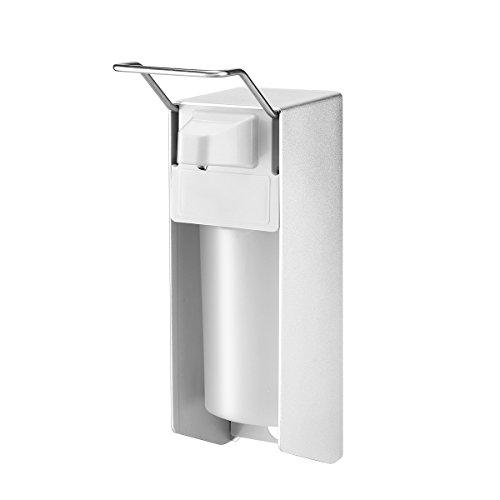 Frontoppy Desinfektionsspender, Seifenspender Aluminiumlegierung mit Wandbefestigung - 1000ML/34oz Eurospender, Elbow Pressure Handwaschspender für Küche, WC