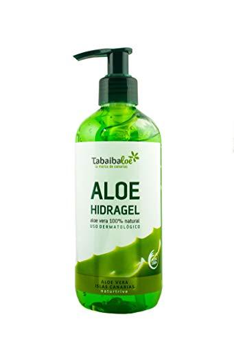 TABAIBA Hidragel Aloe Vera, Gel Hidratante con Aloe Vera, 300 ml