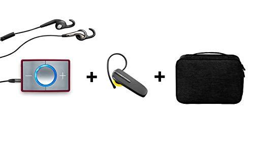 CEECOACH 2 Bluetooth Single Bordeaux mit Bluetooth Headset und Tasche
