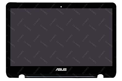 New 13.3' FHD 1920x1080 LCD Touch Screen Replacement Assembly with Frame For ASUS Q304 Q304U Q304UA (61 PINS)
