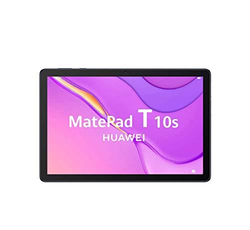 "HUAWEI MatePad T10s - Tablet de 10.1""con pantalla FullHD (WiFi, RAM de 2GB, ROM de 32GB, procesador Kirin 710A, Altavoces cuádruples, EMUI 10.1, Huawei Mobile Services), Color Azul"