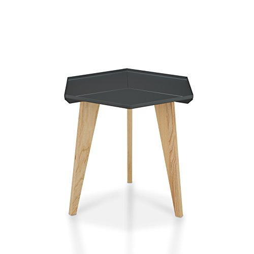 HOMES: Inside + Out Jacalyn End Table, Grey