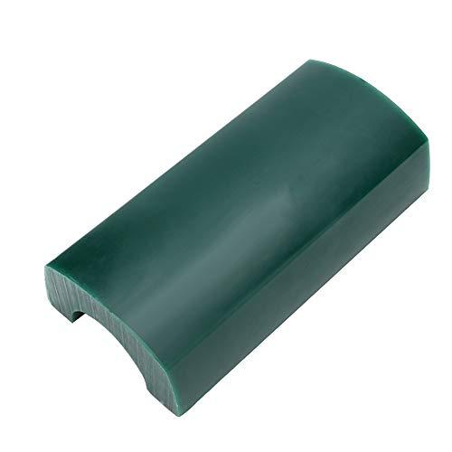 Grüne Armband Wachs Tube + solide Armreif Gravur Wachs halbrund Schmuck Edition Wachs, Schmuckherstellung Geschnitzte Skulptur Wachs Tube für Metallschmuck (Männer & Frauen)