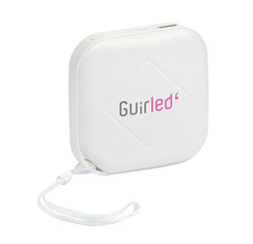 GuirLED Batterie Externe 6000 mAh - 1A - Jusqu'a 70H d'autonomie avec Une Guirlande