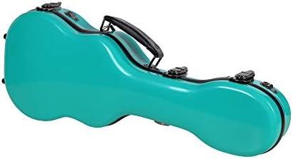 Crossrock Thick Padded Hardshell Fiberglass Turquoise Concert Ukulele Case CRF1020CUTU product image