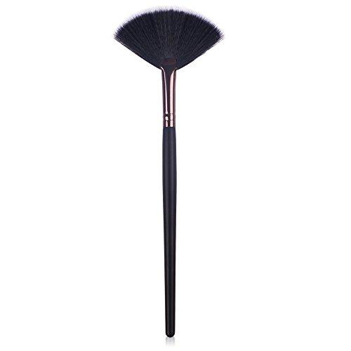 Fan Brush, Blush Brush, Slim Vegan Makeup Brush