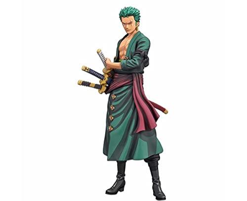 Bandai Spirits. One Piece Roronoa Zoro Grandista Negro Figure Manga Dimensions Wano Subito Disponible!