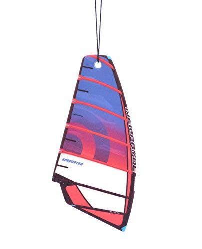 Vela de windsurf Ambientador de árbol Aroma BLACK WATER | vélica deodorante per Auto (Neilpryde Speedster)