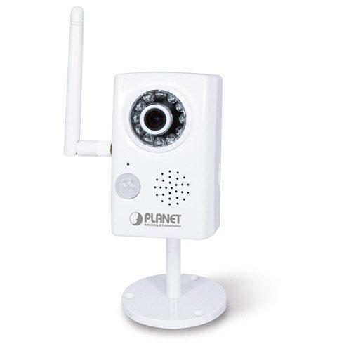 PLANET ICA-HM101 2.0 Megapixel H.264 IP Kamera mit 802.3af POE, PIR, ONVIF, IPv6, WDR, 3GPP, 2-Wege-Audio, Micro SD, Part# ICA-HM101