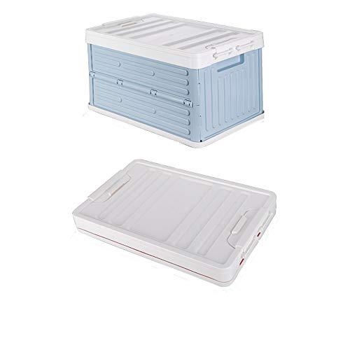 HUIXINLIANG Bacs de Stockage Pliables avec couvercles, boîte de Rangement Pliable multifonctionnelle pour la Maison/de l'extérieur/de la Voiture, de la Boucle et des poignées à Double Face Design,