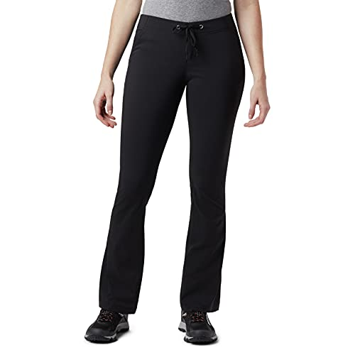 Columbia Women's Anytime Outdoor Boot Cut Casual Pant, Black, 14 Short