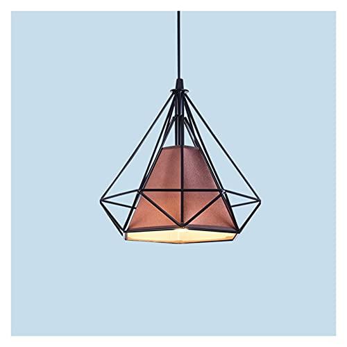 -Kronleuchter Schmiedeeiserne Kronleuchter, Angellinie Kronleuchter, spezielle Diamant-dekorative Lampen für Nordic Post-Modernism Haushalt dekorative Leuchten (Color : H)
