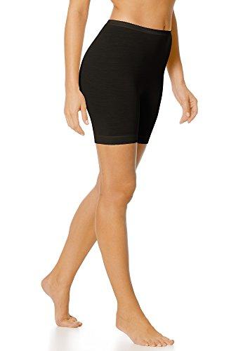 Mey Basics Serie Exquisite Damen Leggings Schwarz 40