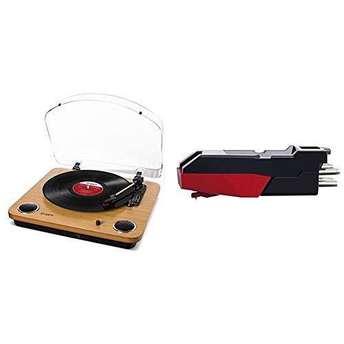 ION Audio Max LP y CZ-800-10 - Tocadiscos de vinilo de 3...