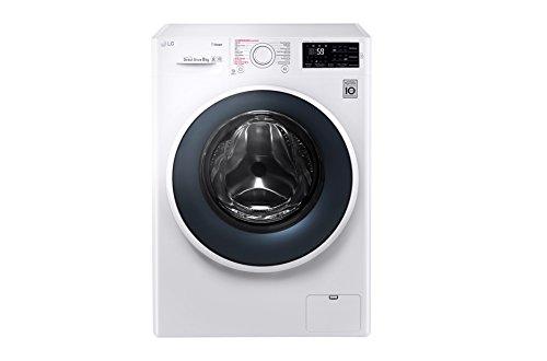 LG FH4J6TS8 Libera installazione Carica frontale 8kg 1400Giri min A+++-30% Bianco lavatrice