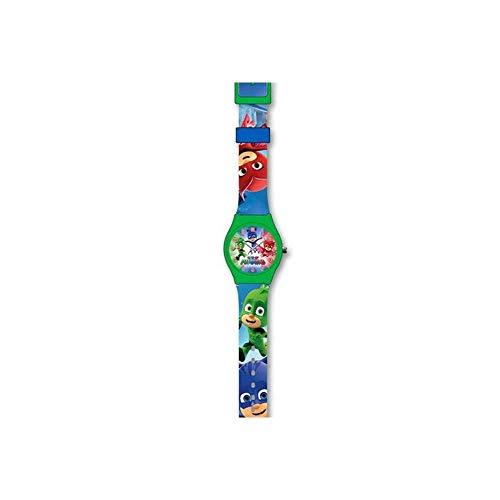 PJ Masks, orologio da bambini unisex, motivo: Super pigiamini, rif. PJ17019