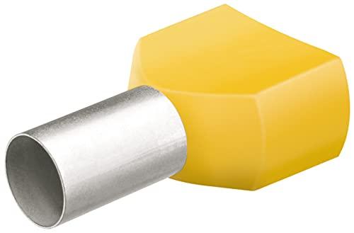 KNIPEX Twin-Aderendhülsen mit Kunststoffkragen je 50 Stück 97 99 376