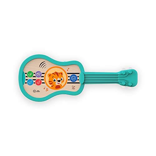 Baby Einstein, Hape Juguete musical de madera, Ukelele con tecnología táctil Magic Touch, música, sonidos de instrumentos y voces de animales, a partir de 6 meses