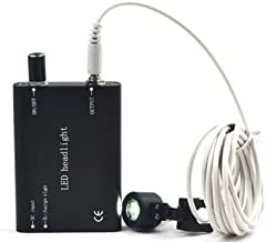 CARESHINE USA Ship* Black LED Head Light Lamp for Dental Surgical Medical Binocular Loupe