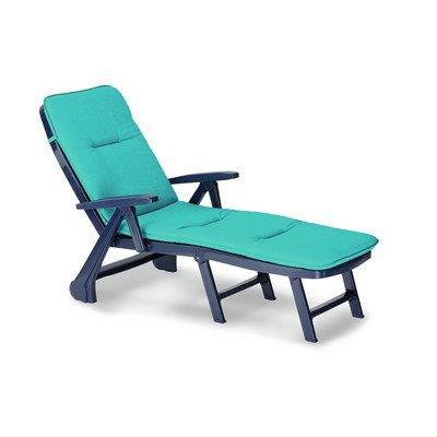 BEST Rollliege Charleston inklusiv TGR Capri und Genua, blau
