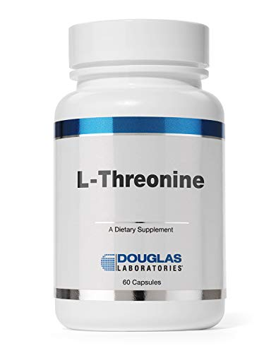 Douglas Laboratories L-Threonine | Amino Acid Supplement for Liver Support, Wound Healing, Heart Health, and Nervous System* | 60 Capsules